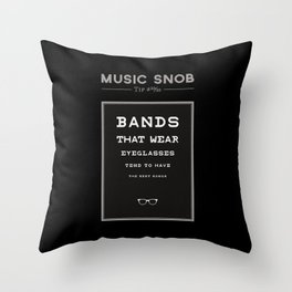 LEGALLY Fourth Eye Blind — Music Snob Tip #20/20-ish Throw Pillow