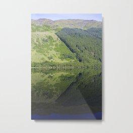 Mirror Water - Lock Eck Metal Print