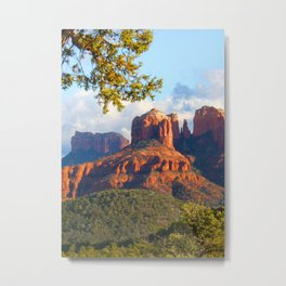 Cathedral Rocks of Sedona Metal Print