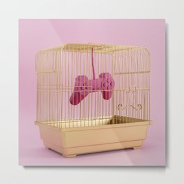 A cage for fun Metal Print