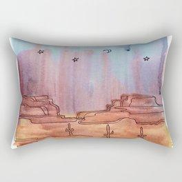 Painted Desert 7 Rectangular Pillow