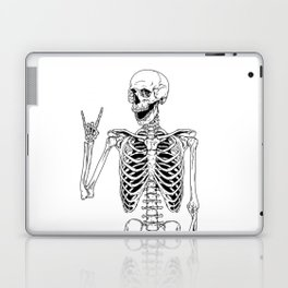 Rock and Roll Skeleton Laptop & iPad Skin