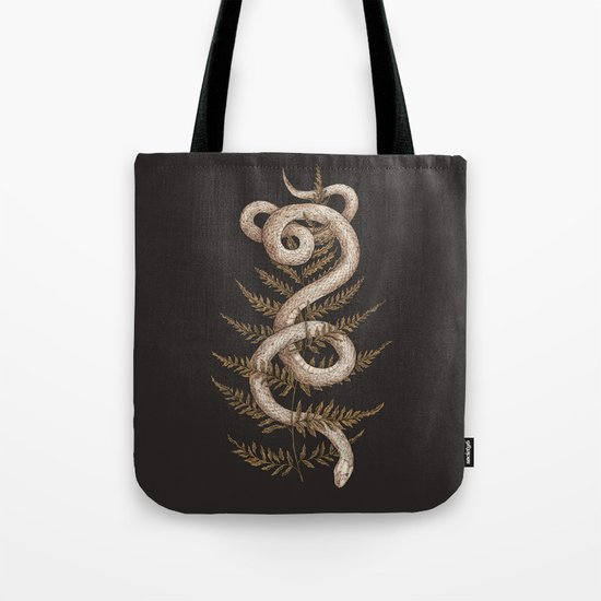 The Snake and Fern by jessicaroux