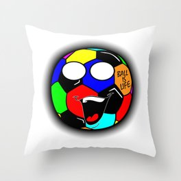 Ball Is Life 3 Throw Pillow