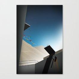 Mountain Rider - Leap of Faith Canvas Print