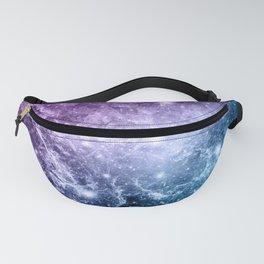Purple Teal Galaxy Nebula Dream #4 #decor #art #society6 Fanny Pack