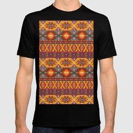 Native Spanish Design Print T-shirt
