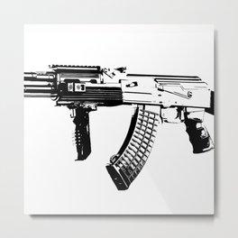 AK-47 Metal Print