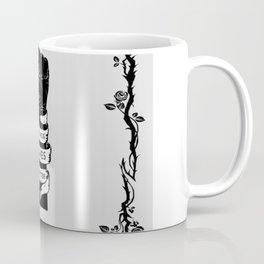 Black Lives Matter Power Fist Frame Coffee Mug