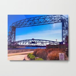 Duluth in the Spring 3 Metal Print