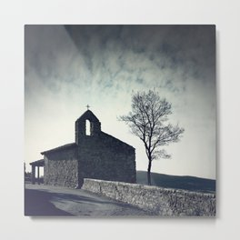 The Chapel Metal Print