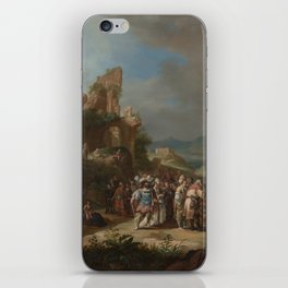 The Preaching of John the Baptist,1634 iPhone Skin