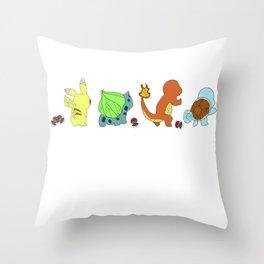 THE ORIGINAL 4 series by SHEIS. Throw Pillow
