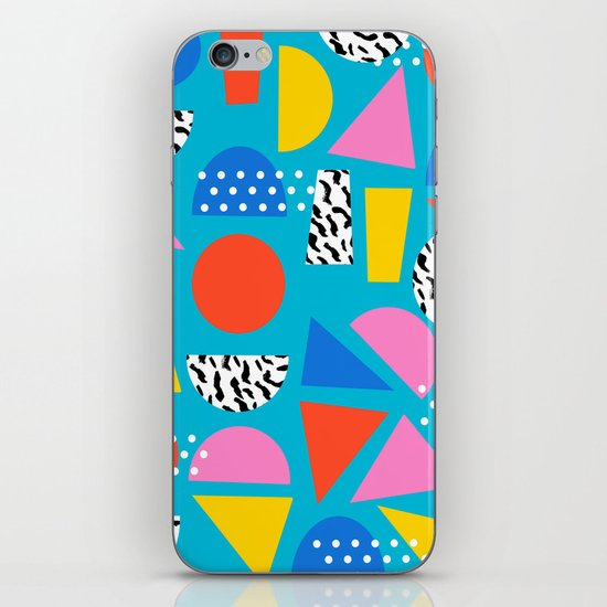 Airhead - memphis retro throwback minimal geometric colorful pattern 80s style 1980's by wacka
