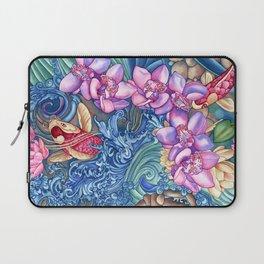 Orchid Splash Laptop Sleeve