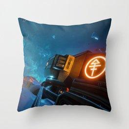 Sector 3 Throw Pillow