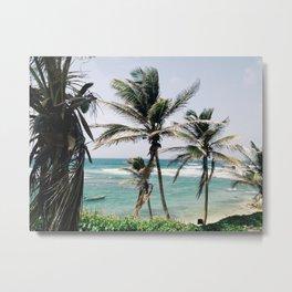 Bathsheba Beach Metal Print