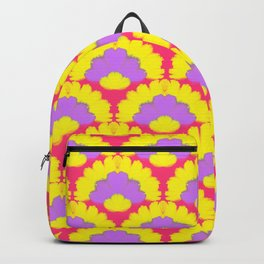 Pop Ethnic Print Backpack