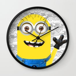 Minion and Friends Wall Clock