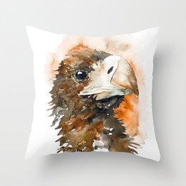 BIRD#5 Throw Pillow