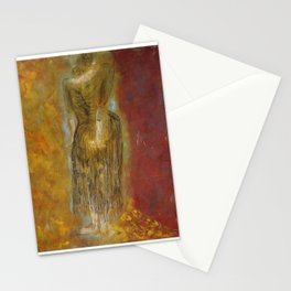 woman【Japanese painting】 Stationery Cards