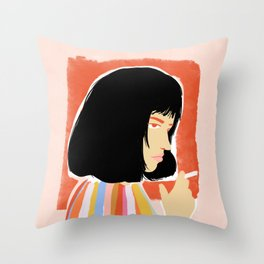 You're gonna be a lady soon Throw Pillow