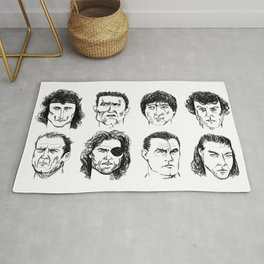 80s Action Stars Rug