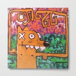 Foxy orange Metal Print