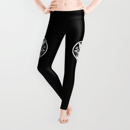Black Metal Cat Leggings