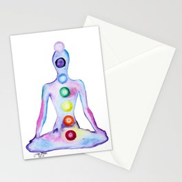 Seven Chakras Stationery Cards