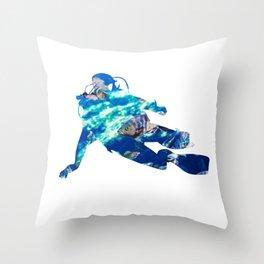 Cool Diver Sea Motive | Ocean Design Throw Pillow