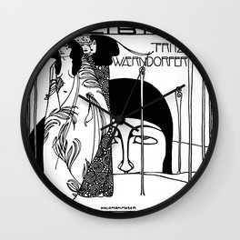 "Koloman (Kolo) Moser ""The Judgement of Paris"" Wall Clock"