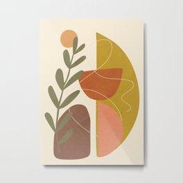 Abstract Decoration V Metal Print
