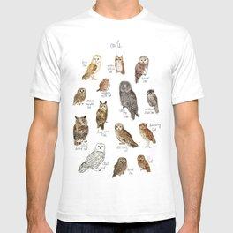 Owls T-shirt