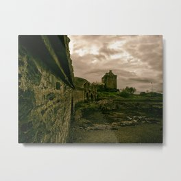 Eilean Donan Castle, Kyle of Lochalsh, Scotland Metal Print