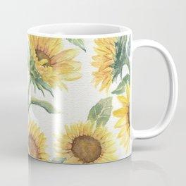 Blooming Sunflowers Coffee Mug
