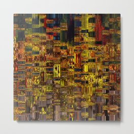 Colors of the City Metal Print