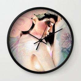 Lament Of The Roses Wall Clock