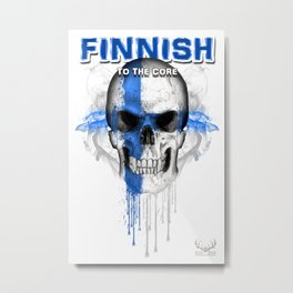 To The Core Collection: Finland Metal Print