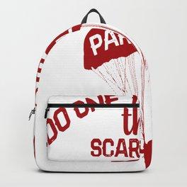 paragliding flying paraglider scares paraglider Backpack