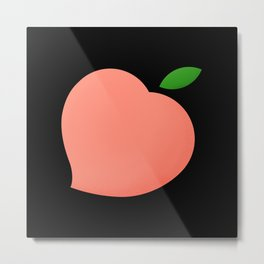 You Have A Peach of My Heart Metal Print