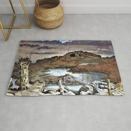 Zonnebeke - Sir William Orpen Rug
