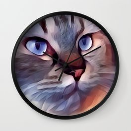 Cat 8 Wall Clock
