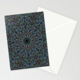 Succulent Fractal Stationery Cards