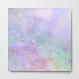Iridescent Moon Metal Print