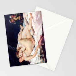NUDE ART : The Lovers Stationery Cards
