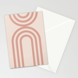 Abstract  Mid Century Modern art Stationery Cards