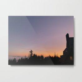 Timberline Lodge Metal Print