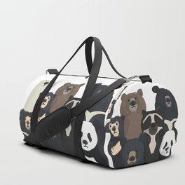Bear family portrait Duffle Bag