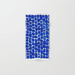 Brick Stroke Blue Hand & Bath Towel